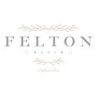 a logo with the words felton ranch