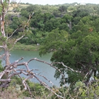 Overlookng the Pedernales River at Reimers Ranch Park