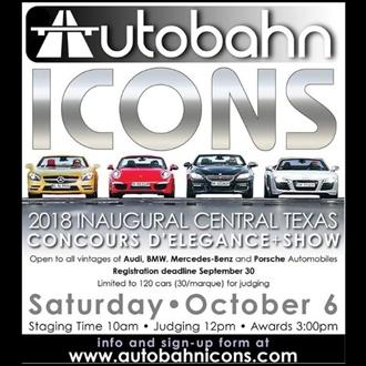 Autobahn Icons German Automobile Concours Delegance - Mercedes tx car show