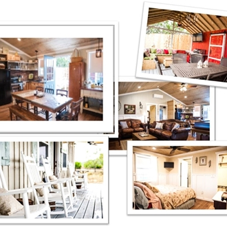 A collage of photos from the Alexander at creek road.