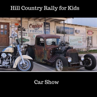 Hill Country Rally For Kids Car Show - Kids car show