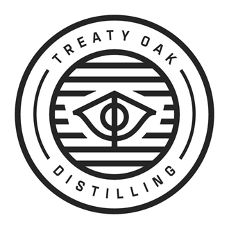 Treaty Oak logo in black and white