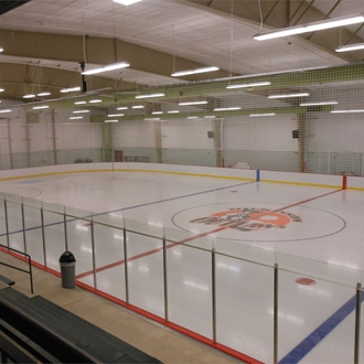 The West River Ice Center in Dickinson, ND consists of two large areas that can be used for ice arenas, meetings, or events.