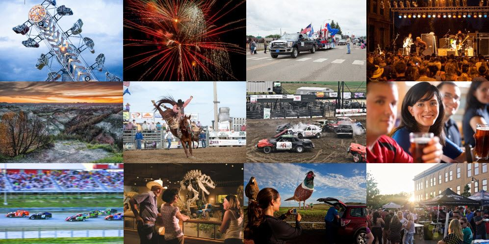 Bring the family and enjoy the main summertime event in Dickinson, ND - Roughrider Days Fair & Expo. Concerts, PRCA Rodeo, Fireworks, Carnival, and more! June 24-July 4, 2020