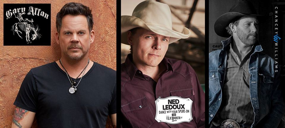 Party under the stars with your friends in Dickinson, ND at the Roughrider Days Concert with headliner Gary Allan and special guests Ned LeDoux and Chancey Williams and the Younger Brothers Band at the Stark County Fairgrounds