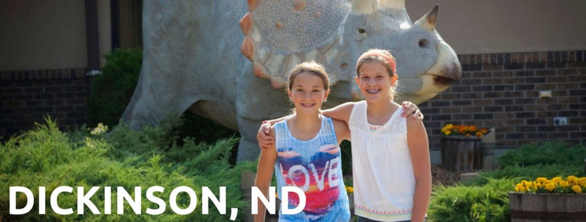 Request a Dickinson, ND Visitors Guide! Dickinson, North Dakota is an experience on The Western Edge!