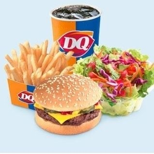 DQ Grill & Chill in Dickinson, ND offers burgers, fries, ice cream treats, Orange Julius beverages, and more.