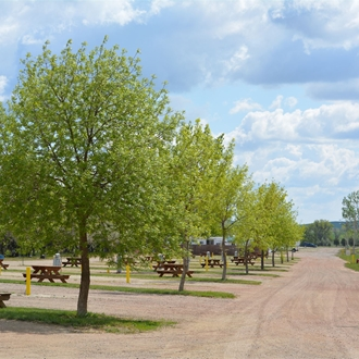 North Park Campground is a campsite in Dickinson, ND.