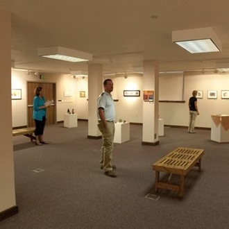 The Dickinson State University Art Gallery is located in Klinefelter Hall in Dickinson State University in Dickinson, ND.