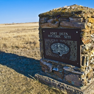 Fort Dilts State Historic Site in Rhame, ND is a great day trip from Dickinson, ND!