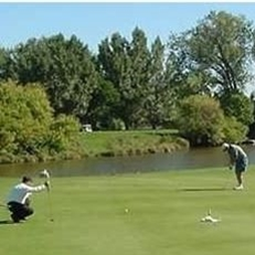 The Sweetwater Country Club in Bowman, ND is a nine-hole golf course. A nice day trip from Dickinson, ND.
