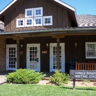 The Herald Schafer Heritage Center in Medora, ND is a great day trip from Dickinson, ND.