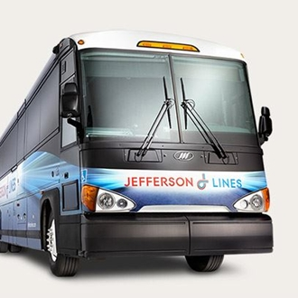 Jefferson Bus Lines offers bus service in Dickinson, ND.