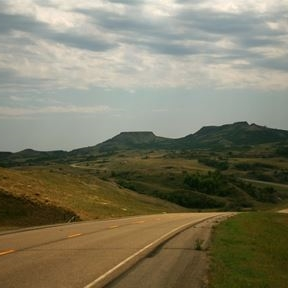 The Killdeer Mountain Four Bears Scenic Byway near Manning, ND is a quick drive from Dickinson, ND.