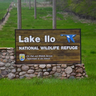 Lake Ilo National Wildlife Refuge is near Dunn Center, ND and is a nice day trip from Dickinson, ND.