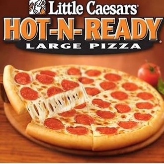 Little Caesars Pizza in Dickinson, ND offers take out pizza only.