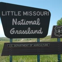 The Little Missouri National Grassland in the North Dakota badlands near Medora, ND is a short drive from Dickinson, ND.