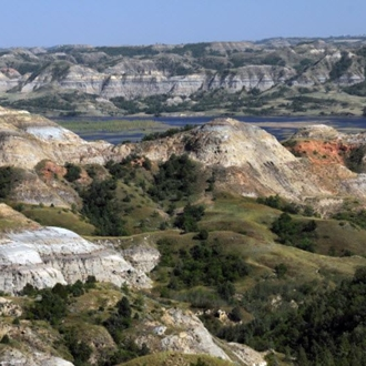 The Little Missouri State Park near Killdeer, ND is a nice day trip from Dickinson, ND.
