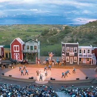 The Medora Musical in Medora, ND is a quick drive from Dickinson, ND.