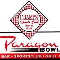 Champs Sports Club Bar & Grill in Dickinson, ND is located in Paragon Bowl bowing alley. Full restaurant and lounge open 7 days per week. Happy hour Monday-Friday.