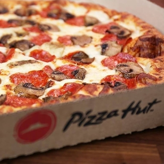 Pizza Hut in Dickinson, ND offers delivery and carry out pizza only.