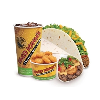 Taco John's in Dickinson, ND offers traditional Mexican food with a West-Mex twist. Featuring Potato Olés, freshly prepared tacos, and famous meat and potato burritos.