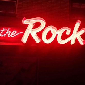 "The Rock Bar is a bar in downtown Dickinson, ND that is home of ""Friday Night Trivia"" starting at 6 pm. Black jack and pull tabs."