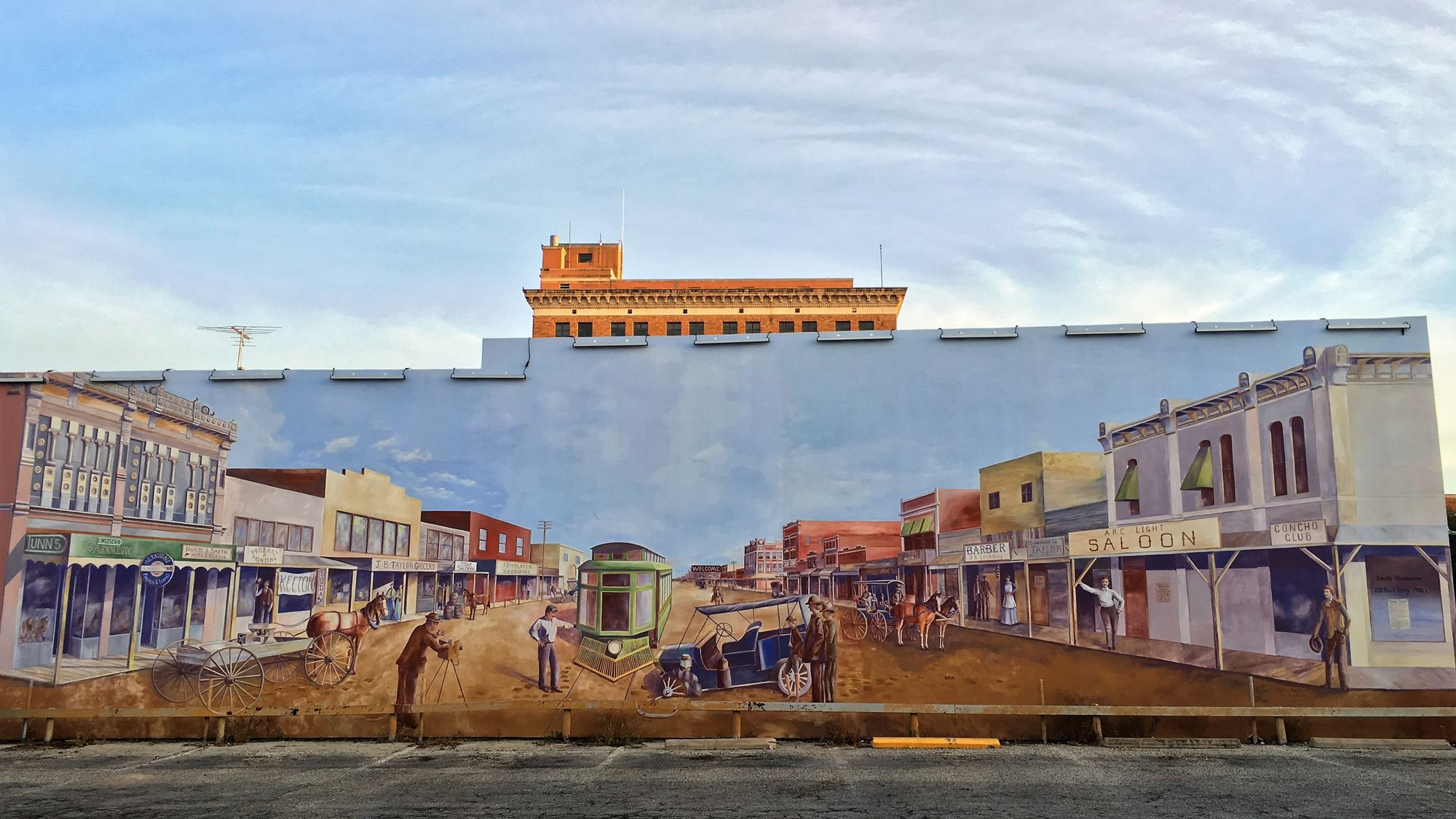 The Chadbourne Street Mural