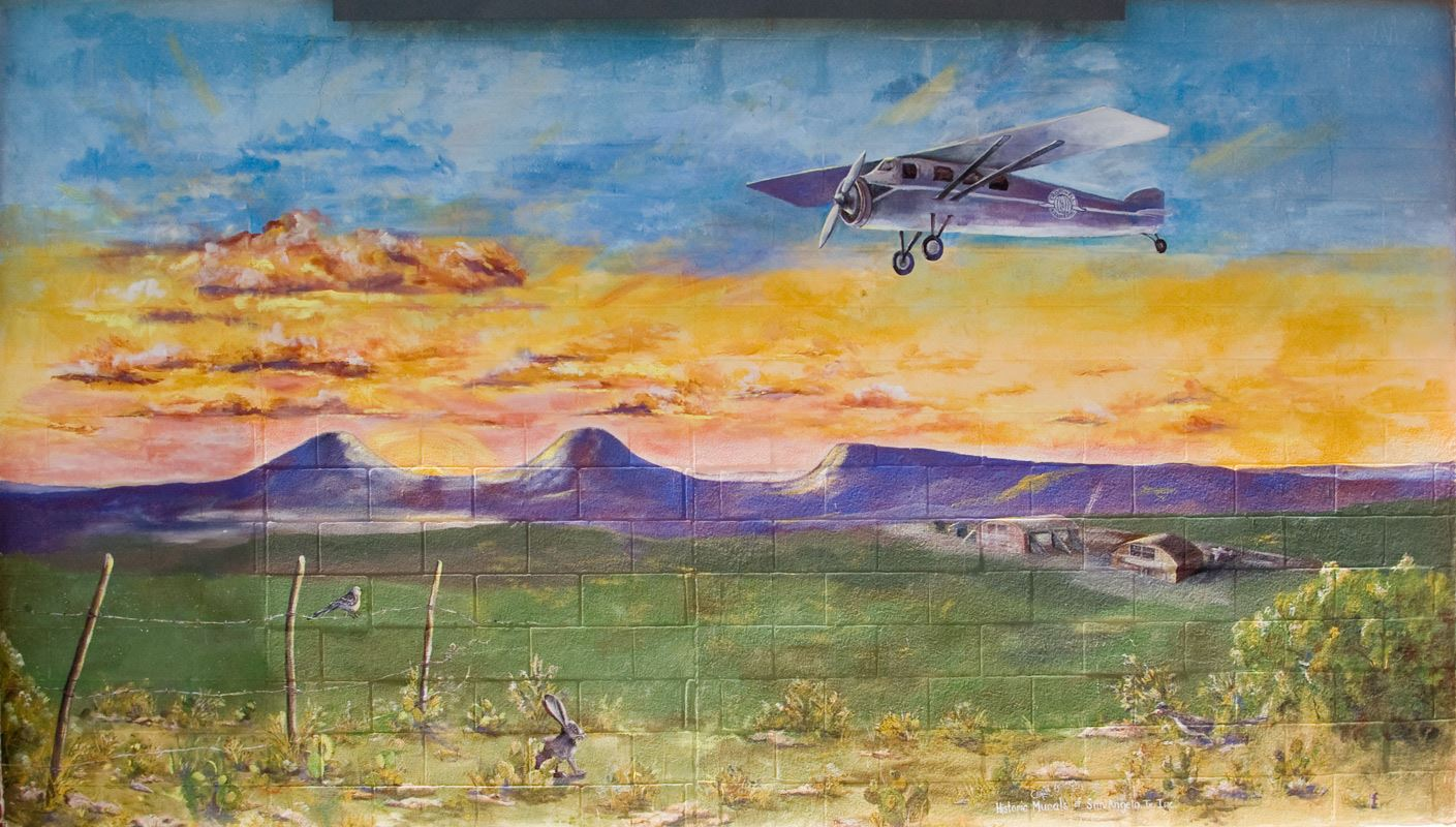 The Cromwell Airlines Mural