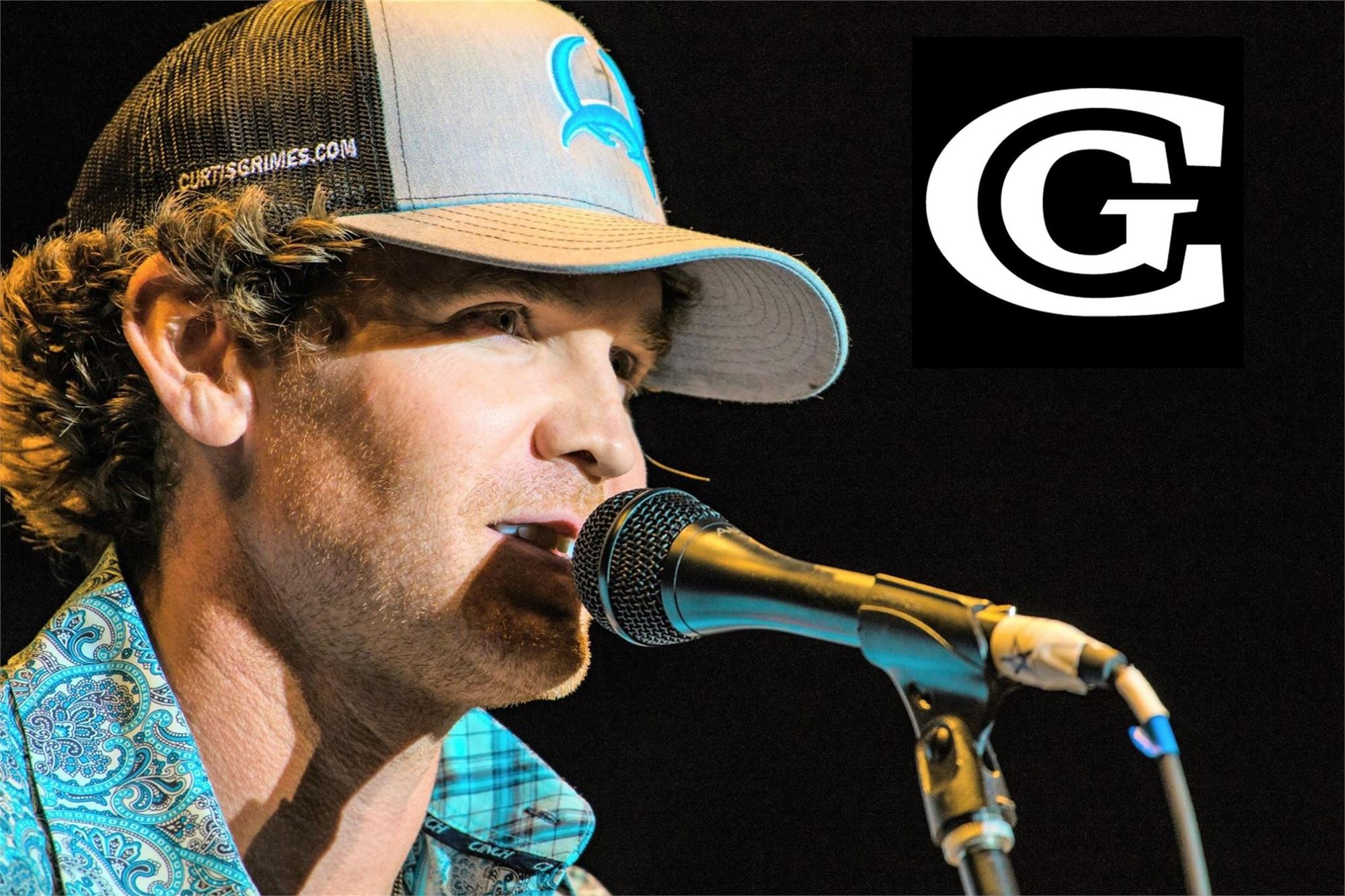 Curtis Grimes  Friday, July 19th in the Entertainment Pavilion following the Bull Riding