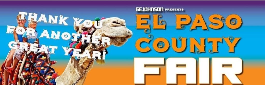 El Paso County Fair 2020.El Paso County Fair