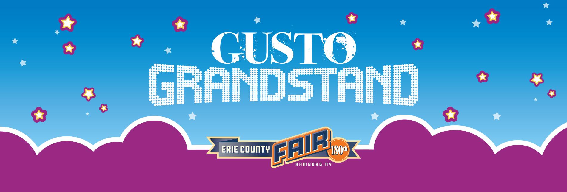 GUSTO Grandstand Header Image