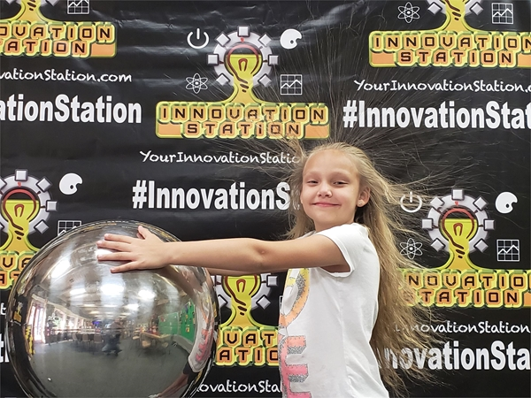 Innovation Station Static Electricity Image