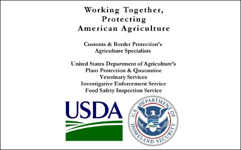 USDA Customs and Border Protection