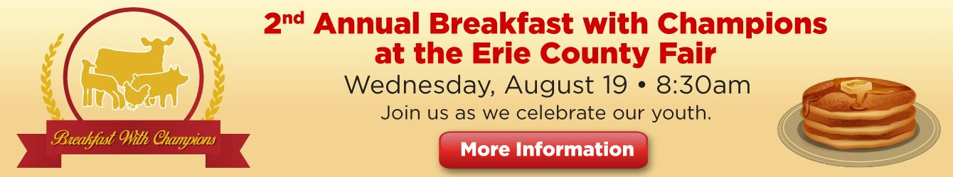 Breakfast With Champions. Click here for more information.