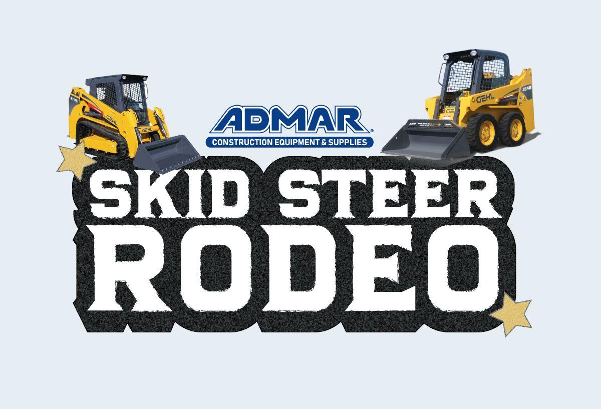 ADMAR's Skid Steer Rodeo Photo
