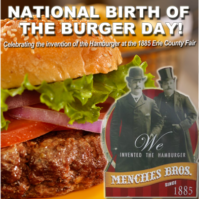 National Birth of the Burger Day Graphic