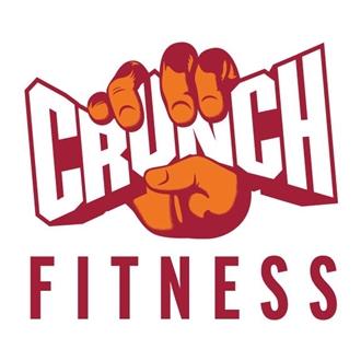 photo of crunch fitness' logo