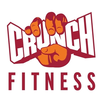 photo of crunch fitness' logo