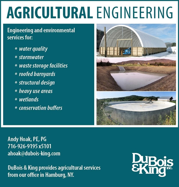 Agricultural Engineering with DuBois & King Inc.