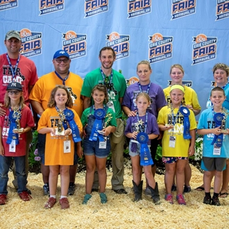 photo of fair camp showmanship