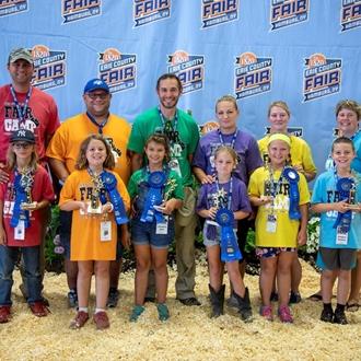photo of fair camp showmanship