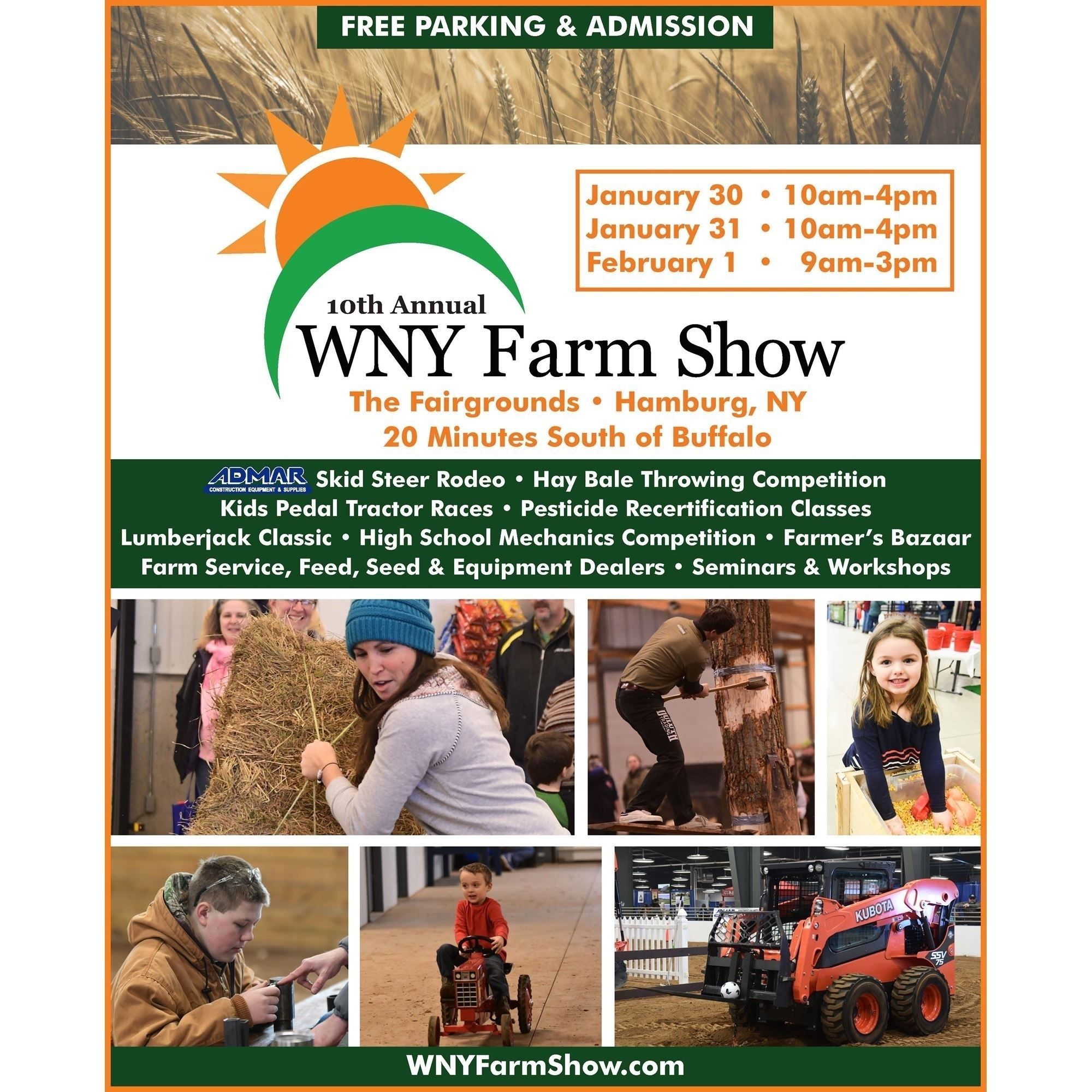 Cover of the Farm Show Program