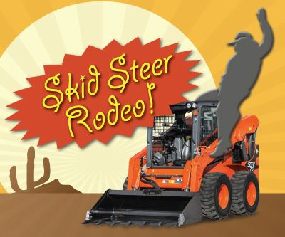 Skid Steer Rodeo Graphic