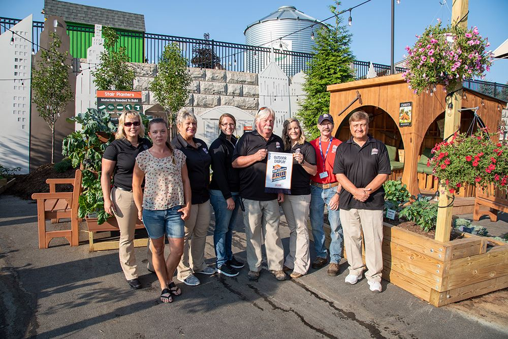 Photo of the urban farming trail winners