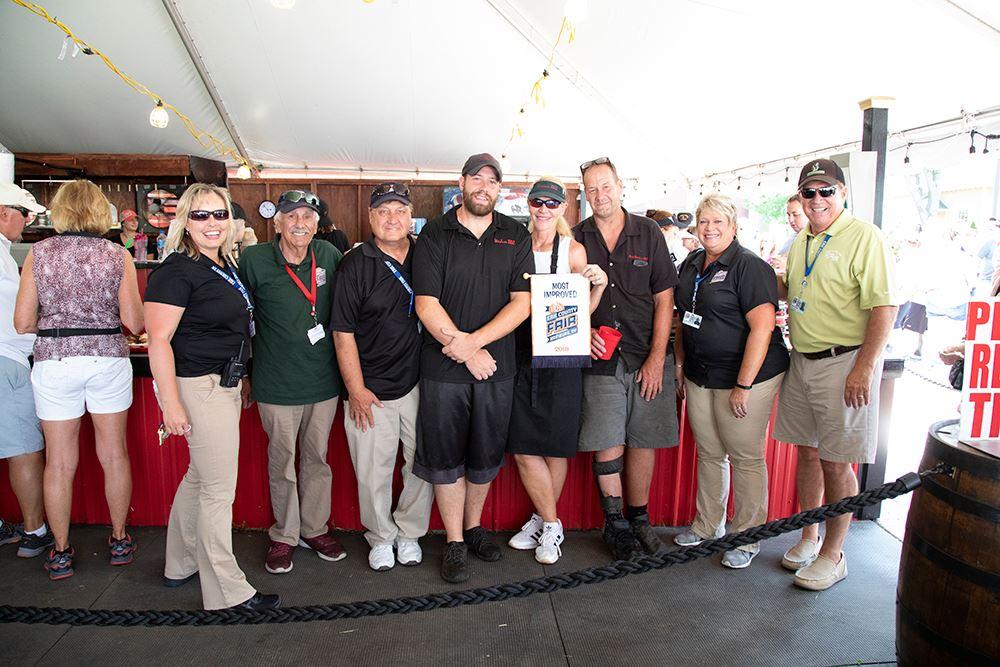 Photo of Weidner's winners