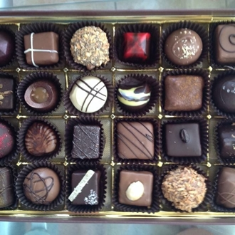 Assorted Chocolates at Chocofin Chocolatier.