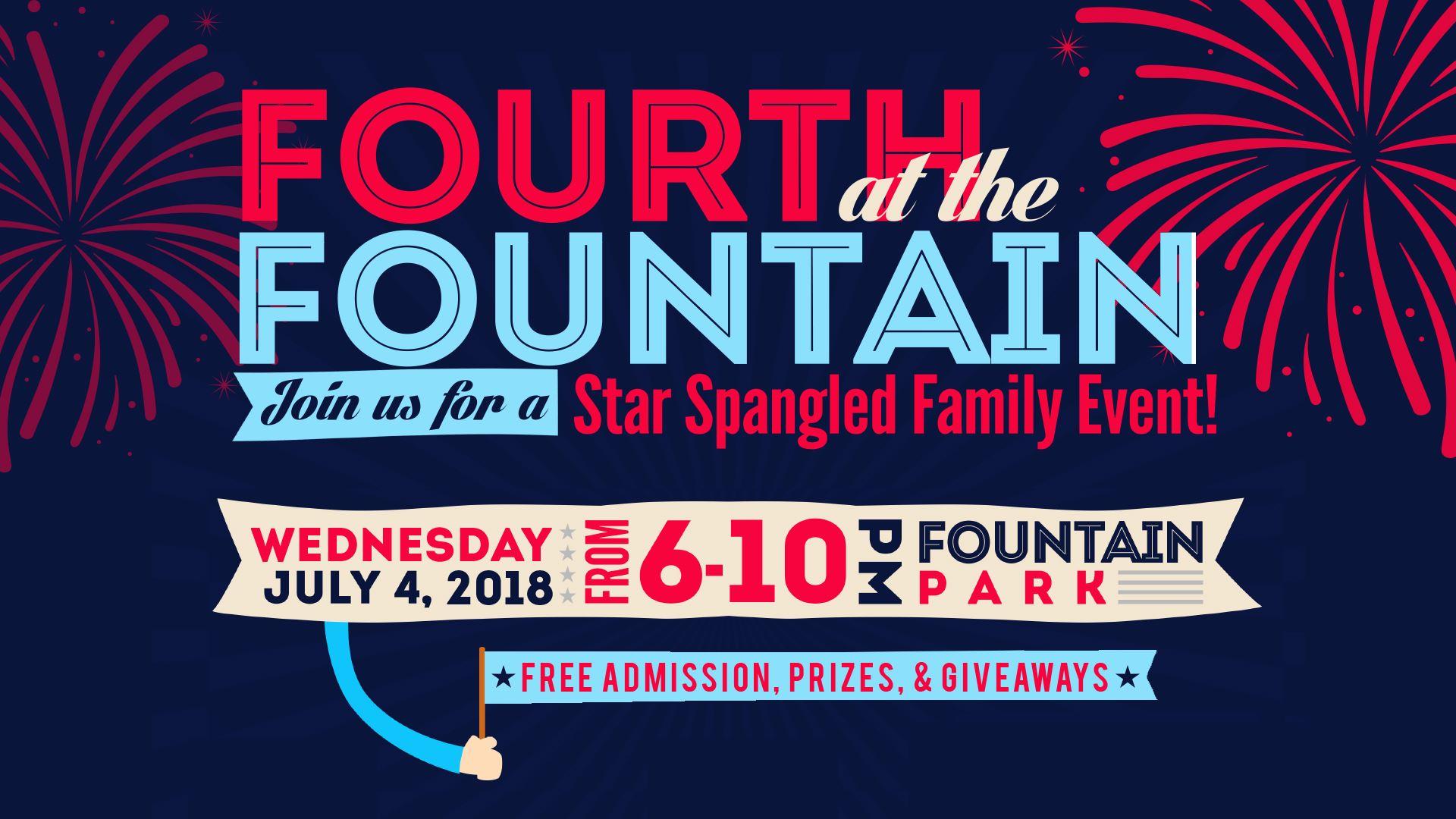 Fourth At The Fountain - Fountain hills car show