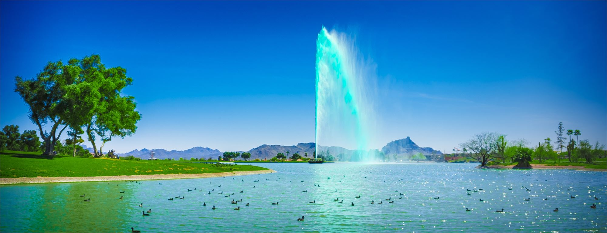 World Famous Green Fountain