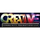 Creative community promotions logo